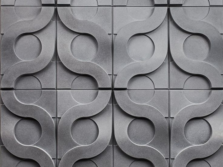 Azulejo tridimensional de fibrocemento vine by kaza for 3d concrete tiles