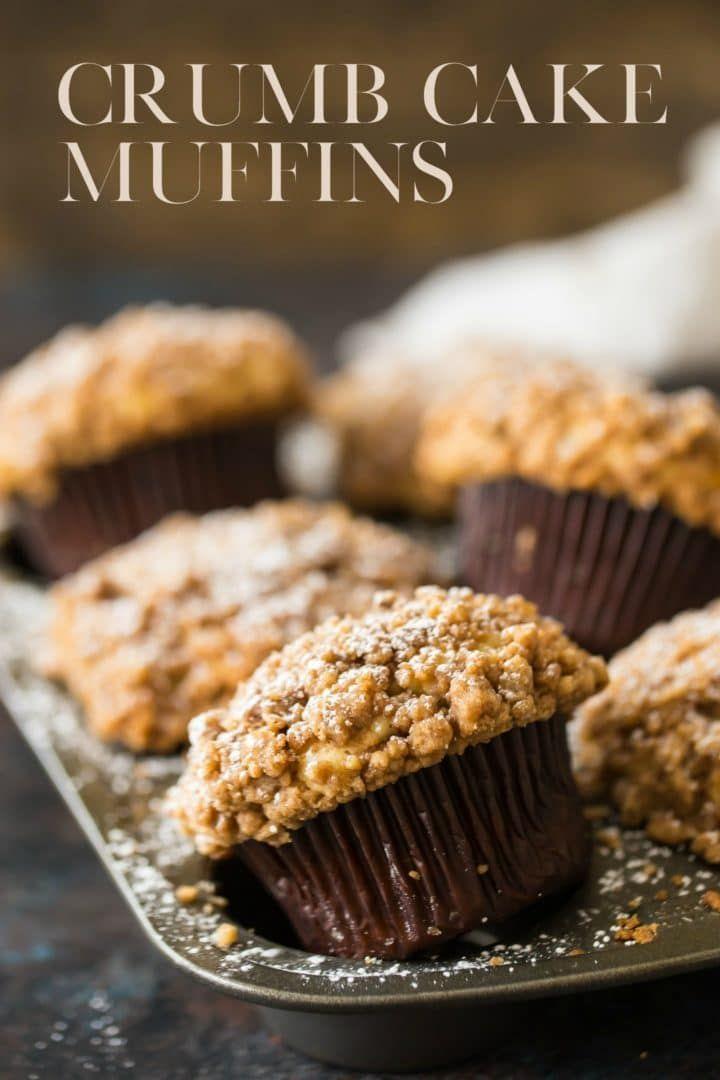 Streuselkuchen-Muffins – Backen eines Momentes  – Muffins   Inspirações