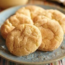 Classic snickerdoodles are easy with Crisco(R) Butter Flavor Shortening Sticks.
