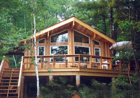 Best 25 cedar homes ideas on pinterest log cabin plans for Log home designs ontario