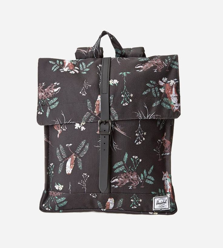 The Herschel City Backpack draws inspiration from the popular Survey Backpack silhouette. Maintaining its own unique style, the City features a single closure and smaller silhouette. Perfect for you city dwellers who are always on the go! http://www.zocko.com/z/JJRQL