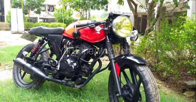 Bajaj Xcd125 Modified Into A Gorgeous Little Cafe Racer Con