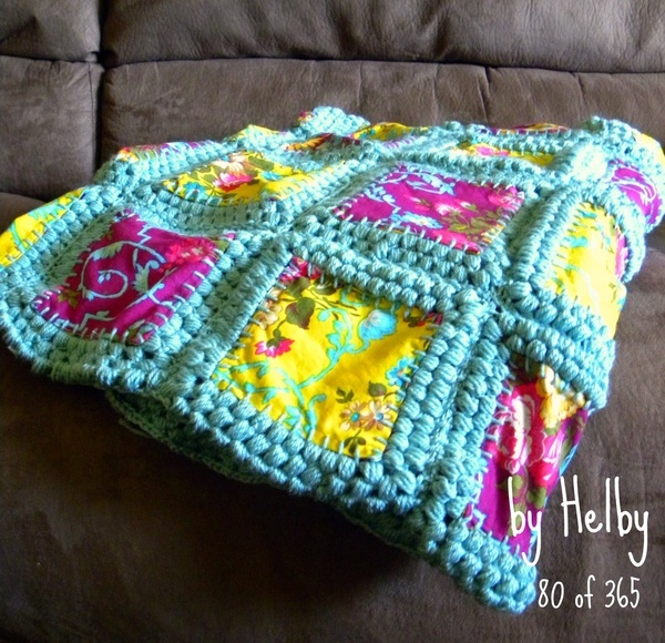 Afghan/Quilt fusion