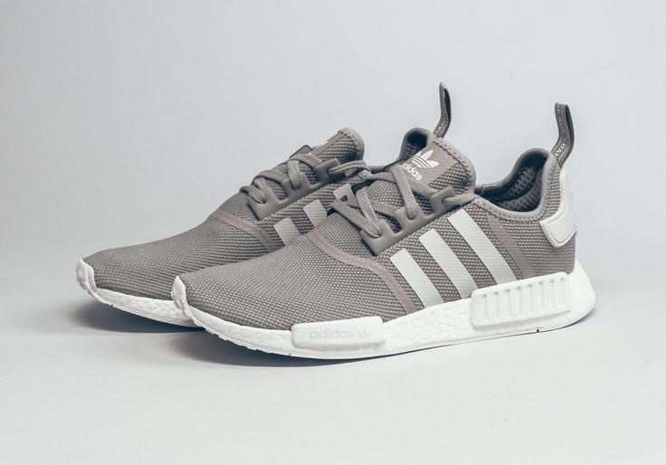 "adidas NMD R1 ""Grey/White""."