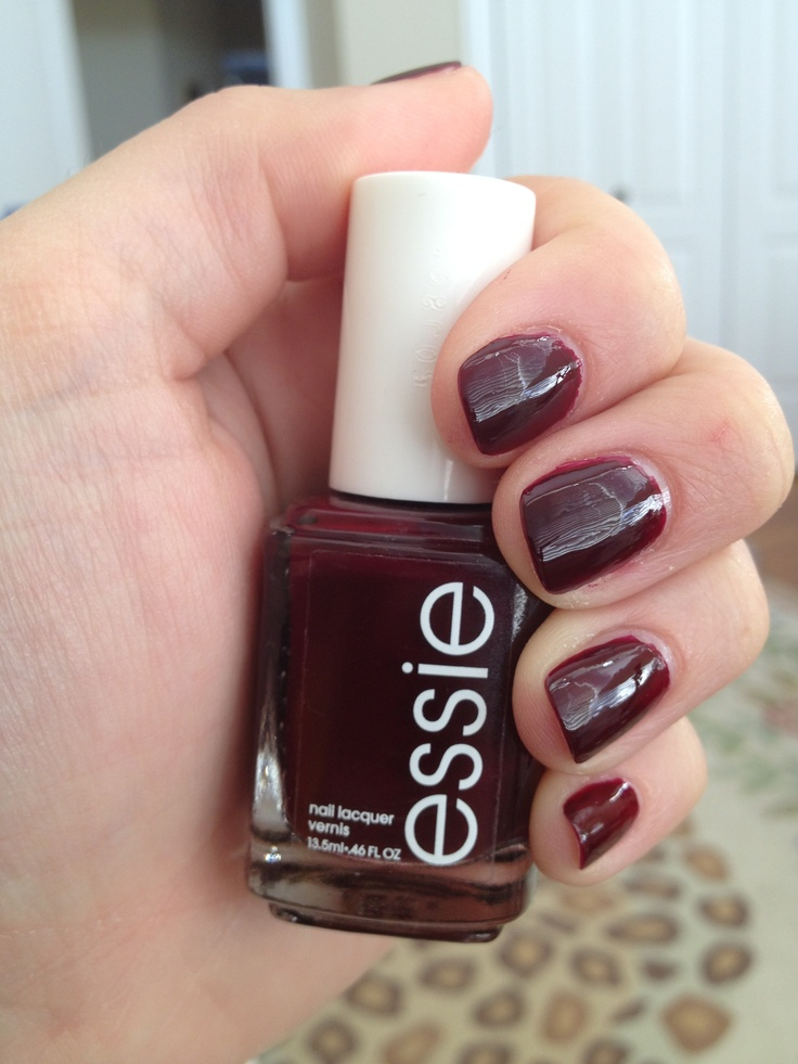 Essie Berry Naughty | Nail polish | Pinterest | Essie ...