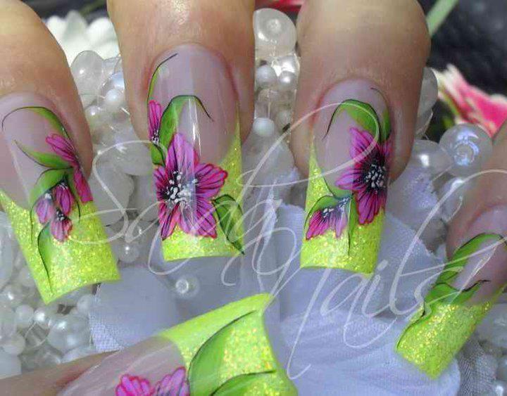Mejores 23 imágenes de Nails en Pinterest   Uña decoradas, Uñas ...