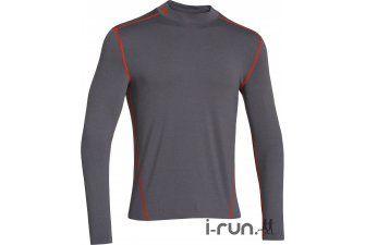 Under Armour Tee-Shirt UA Evo ColdGear M pas cher - Vêtements homme running Manches longues en promo