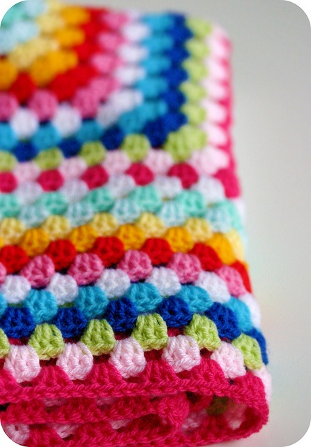 Crocheted Happiness, I love all the colors!