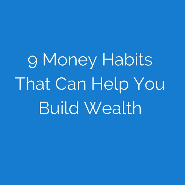 It's the little things—your money habits—that often make the difference between a life of prosperity and one of constant financial stress.