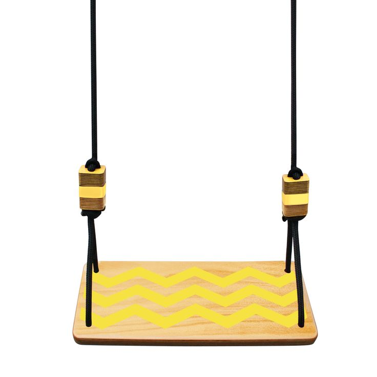 Swing seat in chevron   hardtofind.