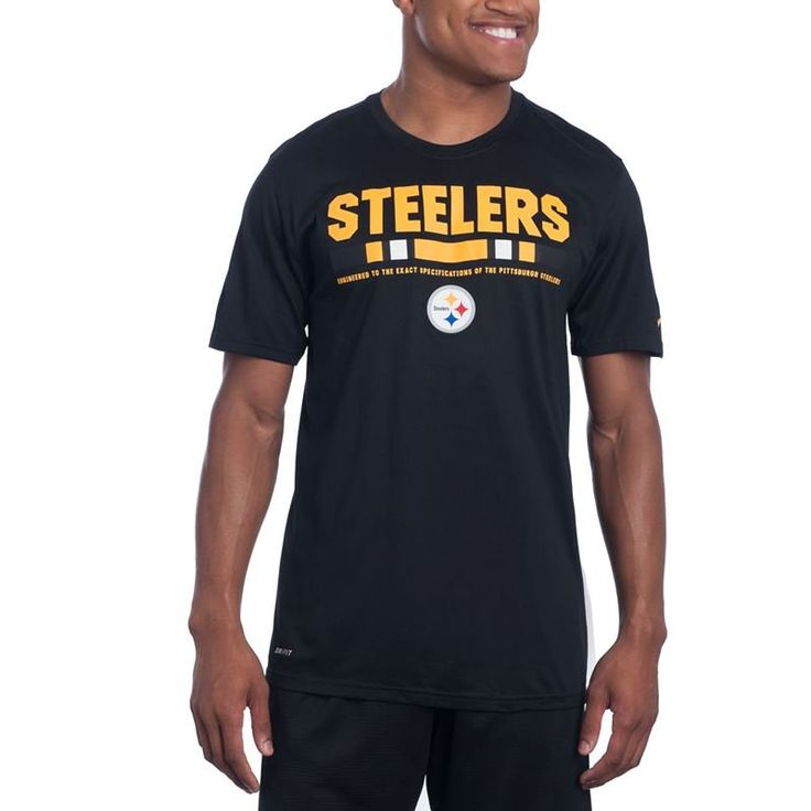Shop the Official Steelers Pro Shop for Pittsburgh Steelers Nike Legend Staff Black Tee 2017
