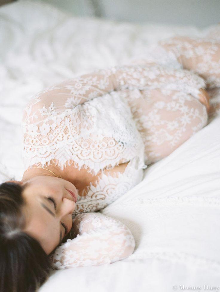 intimate maternity photo, pregnancy photography, lace dress maternity, maternity boudoir, pregnancy photo