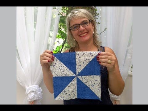Bloco Catavento 7 em 1 | Ana Cosentino | Patchwork Sem Segredos 56 - YouTube