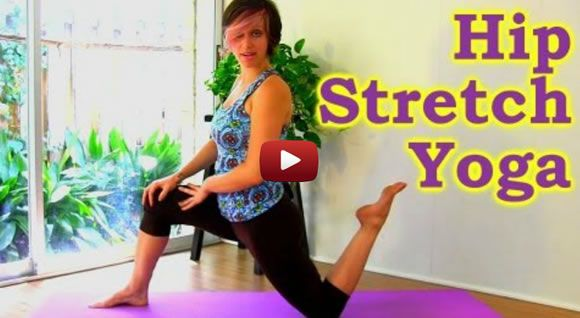 10 Minute Yoga Hip Stretch Workout: How To Stretches for Hip, Butt