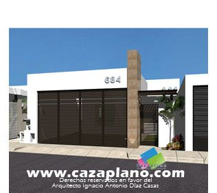 Search on pinterest for Fachadas estilo minimalista casas