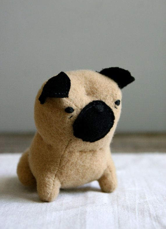 I love my pug doll! Fred got this cutie patootie for me for our 15th anniversary this year!