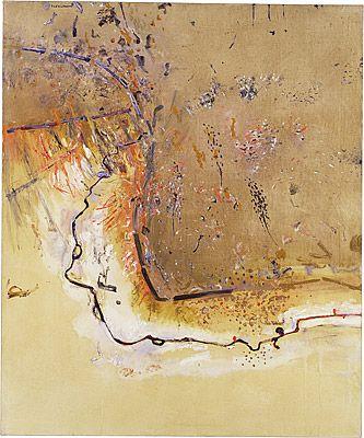 Fred WILLIAMS Dry creek bed, Werribee Gorge I 1977
