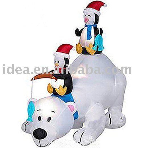 inflables oso polar pingüinos-Adornos navideños-Identificación del producto:360163226-spanish.alibaba.com