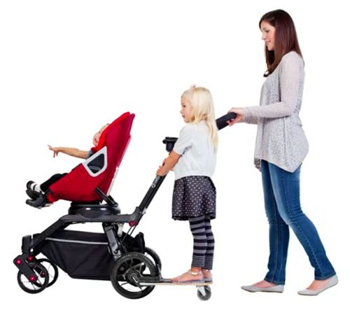 Orbit Baby sees double – new Double Helix pram for two! This is bad ass!