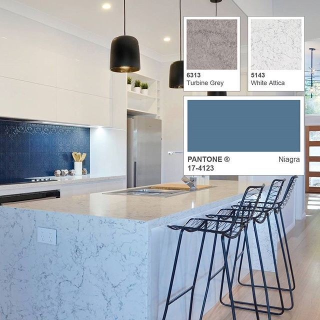 Explore our design guide for new color White Attica. Color Expert shows how the latest colors and trending cabinetry finishes combine with White Attica for a complete look.   Design: Hotondo Homes