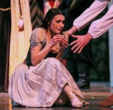 Sarah Lane in Giselle's mad scene