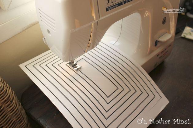 coser a máquina para principiantes