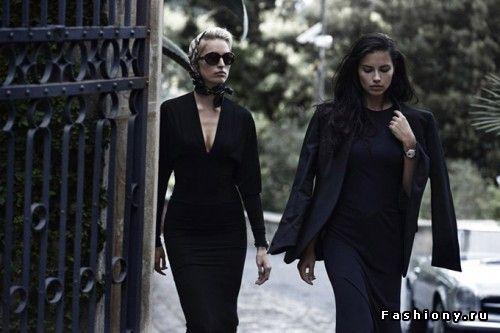 Каролина Куркова и Адриана Лима снялись в рекламной кампании швейцарских часов