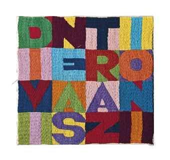 Alighiero Boetti - Divine Astrazioni - Fine Art Textiles