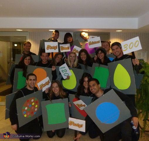 sugar crush group costume - Great Group Halloween Costume Ideas