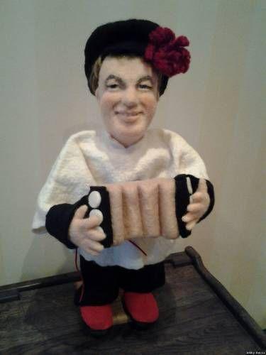 Портретная кукла - Веселый парень