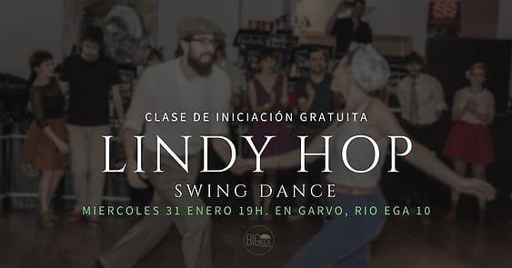 Nueva oportunidad de probar el #lindyhop #swing en #pamplona. Miércoles 31 de enero a las 19 horas en Garvo (calle río Ega 10). #openclass #clase #bailar #gratis #free #open #prueba #probar