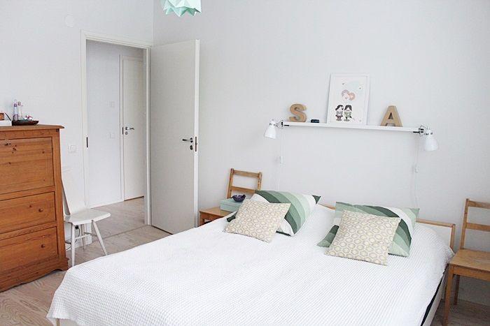 Pastel bedroom by Kotisaari blog
