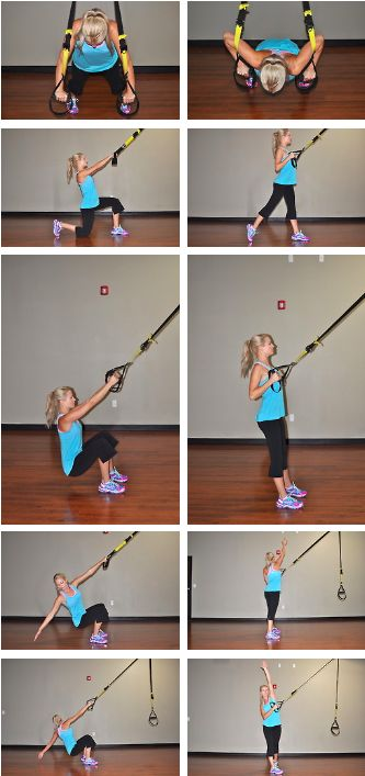 TRX 5 min fixer upper!! Do 15 reps with 1 min rest in between.