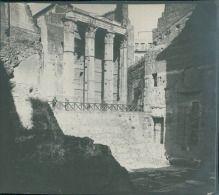 Italia, Roma. Foro di Augusto. Tempio di Mars, ca. 1905  vintage silver print…