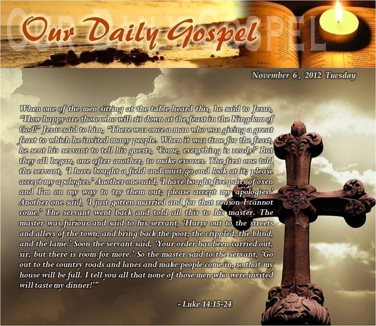 Luke 14 15 -24 Gallery