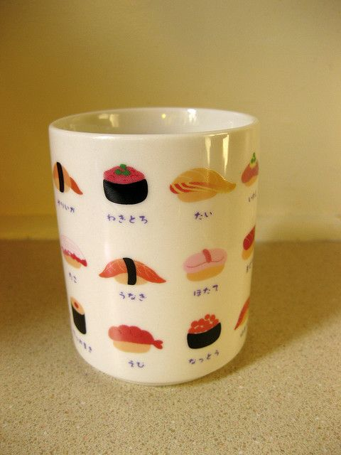 Daiso Sushi cup