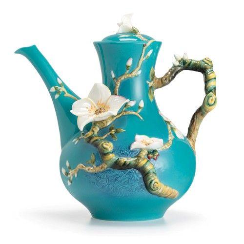 Van Gogh Almond Flower Teapot. So beautiful.