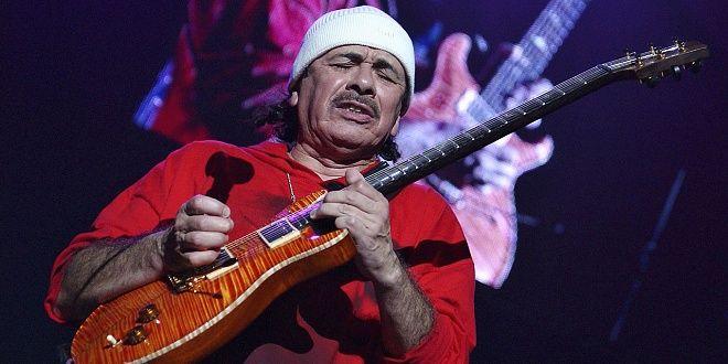 Карлос Сантана направил новия си албум само за четири дни