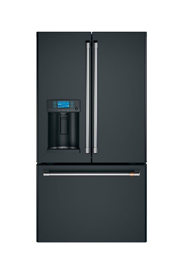 Best Refrigerators Cafe Energy Star 27 8 Cu Ft French Door Refrigerator With Hot Water Dispen Hot Water Dispensers French Door Refrigerator French Doors