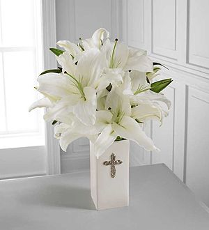 Communion center piece decor