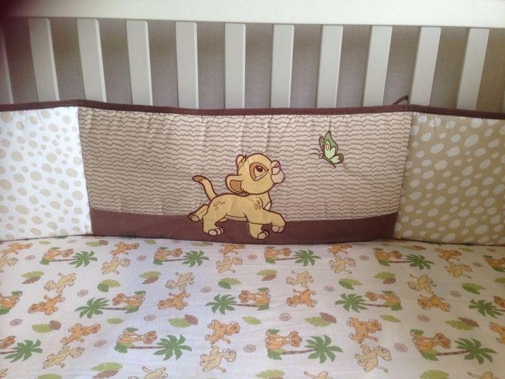 10 Pieces Disney Baby The Lion King Simba Crib Nursery Bedding Set  | eBay