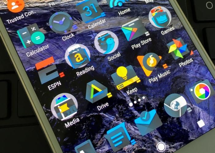 custom icons android