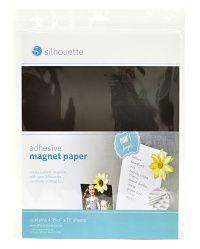Lepící magnetický material - 4 listy