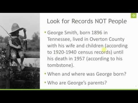 Smarter Searching: Look for Records Not People - With more than 15 billion records now online at Ancestry.com, doing a global search might not be the most effective way to locate records about your ancestors. Join Crista Cowan for a look at some smarter searching tips and tricks, including one little shift in your perspective that could open up a whole new worlds of records.