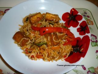 Mixed Vegetables and Tofu Stir Fry in Szechuan Sweet Chilli Sauce | Authentic Vegetarian Recipes | Indian Traditional Food | Step-by-step Instructions | Bloglovin