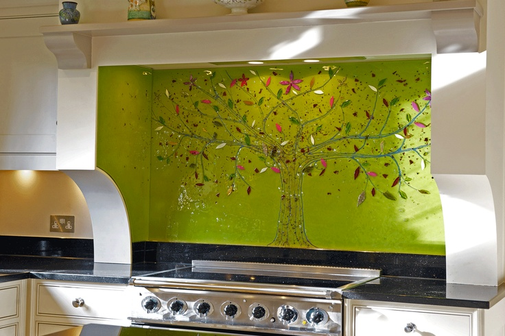 Glass Splashbacks, Kitchen Splashbacks - The House of Ugly Fish