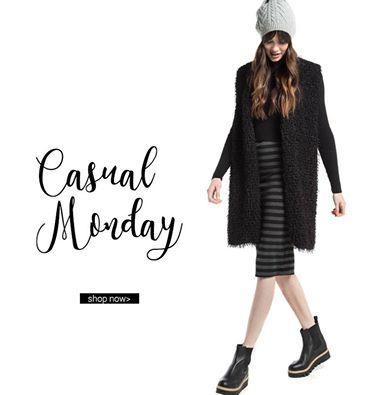 Hello Monday! Γιλέκο μακρύ, συνθετική γούνα > http://bit.ly/2fZdDQn Ριγέ midi φούστα > http://bit.ly/2hEsOLC Ankle Boots > http://bit.ly/2duR7N2 #Helmi #newin #streetstyle #helmistyle