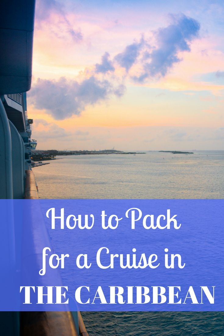 If you're headed out for a cruise this year, read my guide on how to pack for a cruise in the Caribbean so packing will be easy!