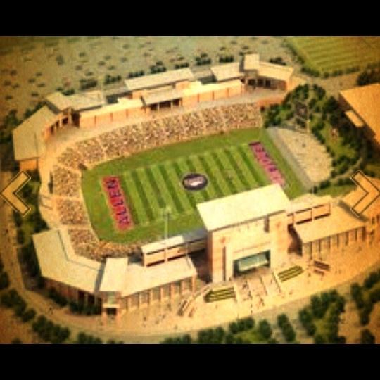 New Allen high school football stadium.....watch out jerry jones!