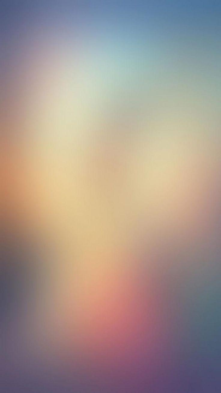 寒色のブラー iPhone6壁紙